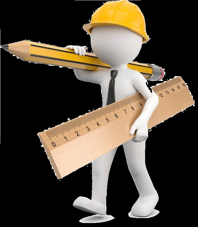 Zeiterfassung für Baustellen - 3D Man Bauarbeiter