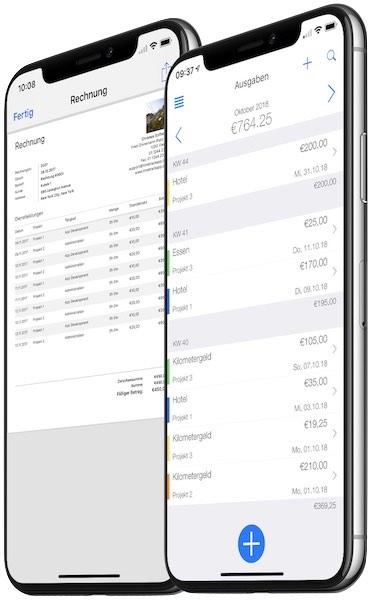 Zeiterfassung App - Ausgaben