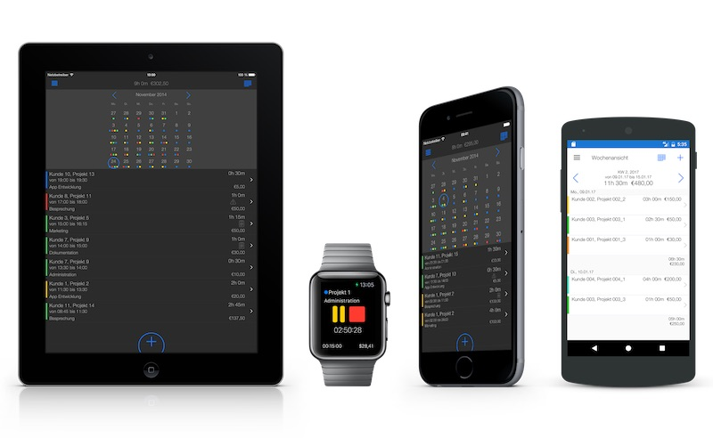 Time Tracking Software Features: Mobile Time Tracker