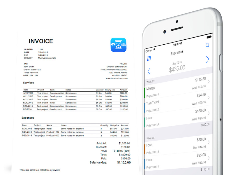 Time Tracking Software Features: Invoicing